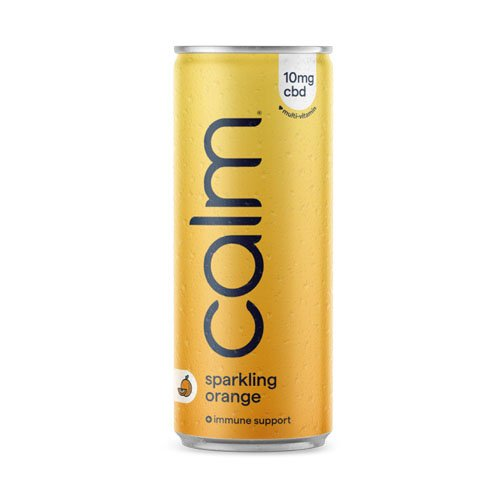 Calm Orange multi vitamin 10 mg CBD drink