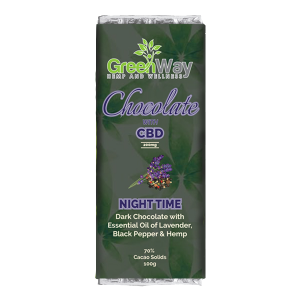 GREENWAY CBD CHOCOLATE NIGHT 100G