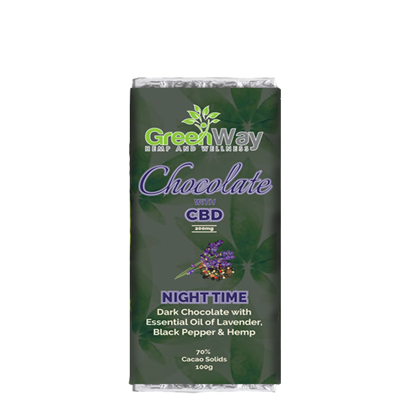 GREENWAY CBD CHOCOLATE NIGHT 50G