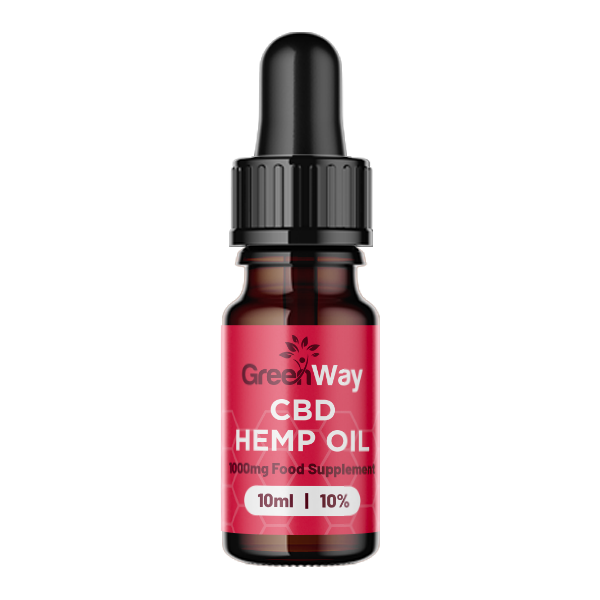 Green way cbd hemp oil 1000mg 10