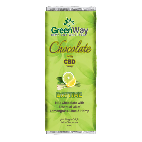 greenway CBD chocolate day 100g